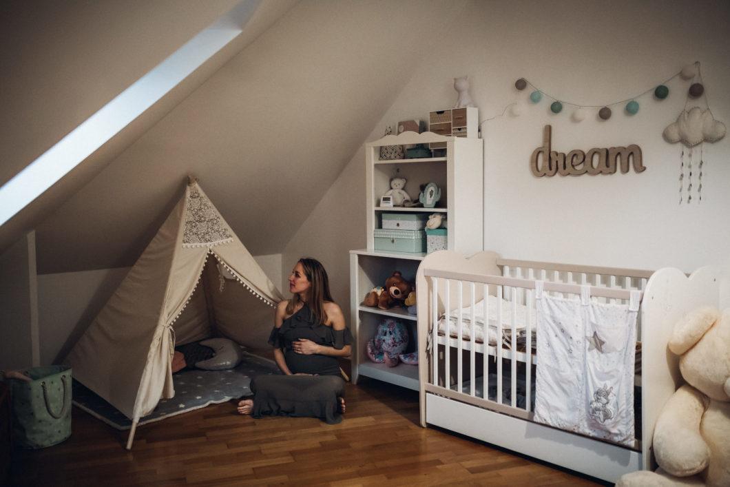 Séance grossesse à domicile