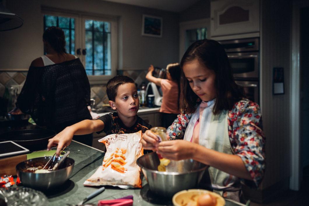 Un dimanche après-midi en famille