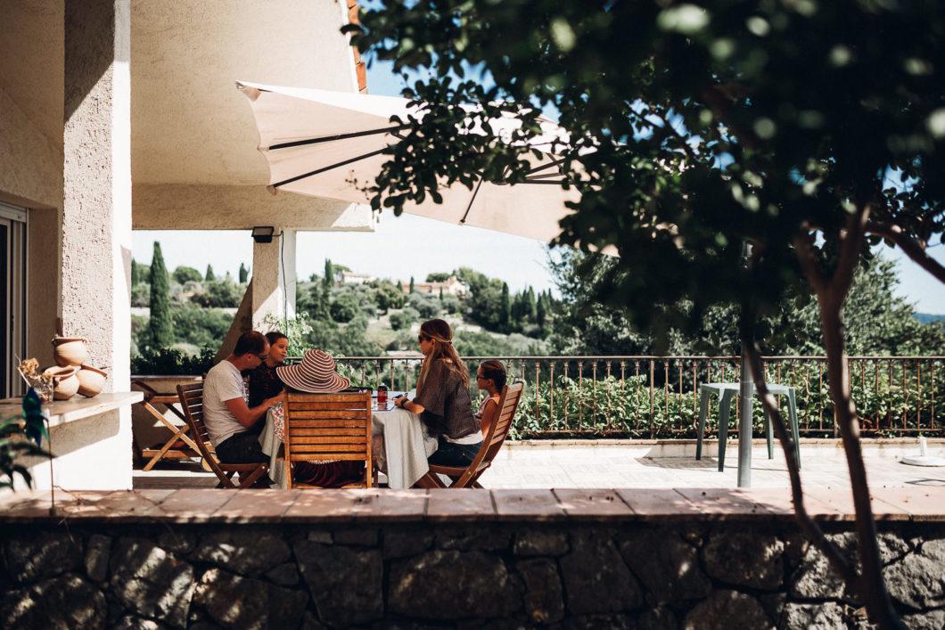 Un dimanche après-midi en famille à Grasse
