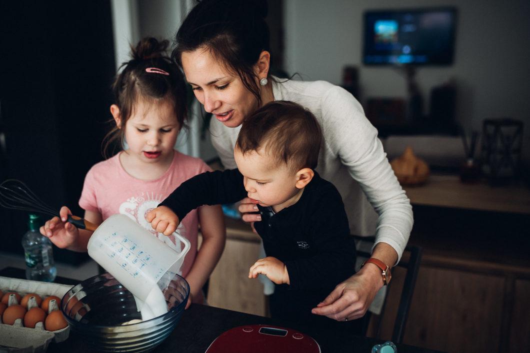 séance à domicile avec enfants